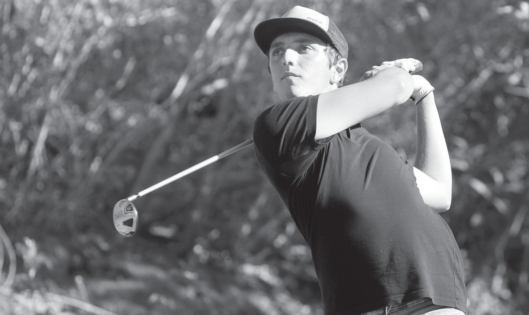 Amateur golf report